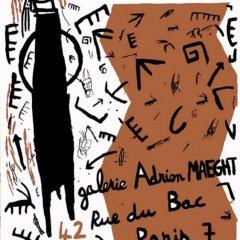 Helene Delprat Poster Original Lithograph printed 1985
