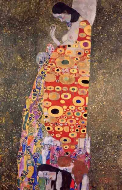 """Klimt """"Hope 2"""" L.E & numbered Giclee"""