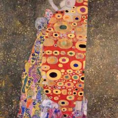 "Klimt ""Hope 2"" L.E & numbered Giclee"