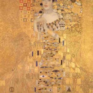 "Klimt ""Portrait of Adele 1"" L.E & numbered Giclee"