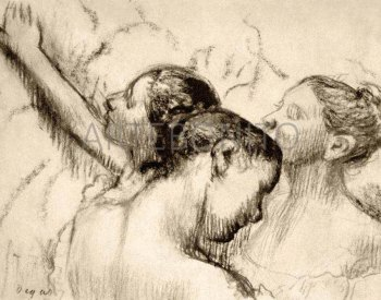 Degas, Three Dancers, Numbered Giclee