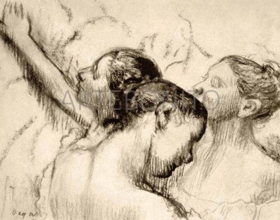 """Degas """"Three dancers"""" L. E & numbered Giclees"""