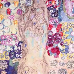 "Klimt ""Portrait of a lady"" L.E & numbered Giclee"