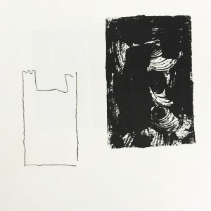 Gerard Traquandi Lithograph N8-1 Noise 1988