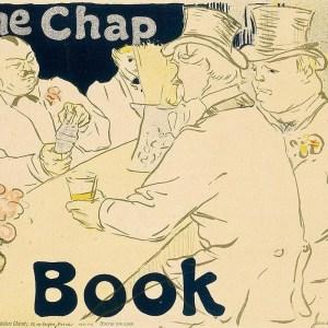 Toulouse lautrec lithograph the chap book