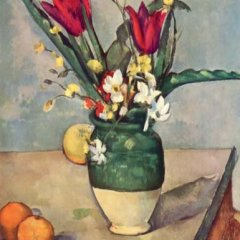"Paul Cezanne ""Flowers and fruits"" L.E Giclee Artwork"
