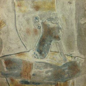 "Egyptian Lithograph ""head 2"" 1938 Verve"