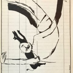 Marc Chagall    Lithograph 8,  Le dur desir de durer, 1950  Mid-century Modern