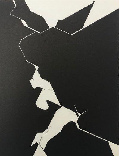 """Palazuelo Lithograph """"DM02207"""" DLM 1974"""