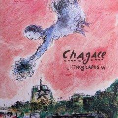 Book Chagall Lithograph vol 6, catalog Raisonnee 1980-1985