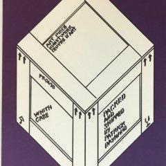 "Patrick Raynaud Original Lithograph ""N14-4"" 1988"