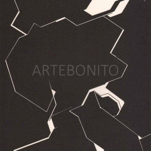 Pablo Palazuelo, Lithograph DM03195, Derriere le Miroir 1970