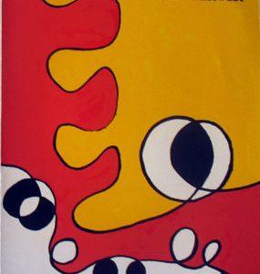 Book Derriere Le Miroir 173, Calder 8 Lithographs 1968