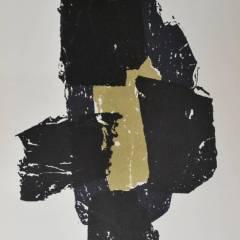 Ubac original Lithograph 'DM05105' 1958