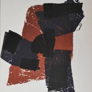 Ubac, Lithograph DM02105, Derriere le Miroir 1958