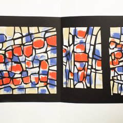 "Ubac Lithograph ""DM06148"" Chapelle St Bernard"