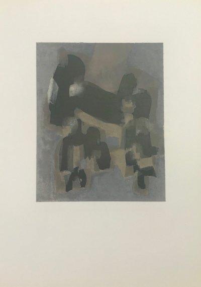 """Ubac original Lithograph """"DM07130"""" 1961"""