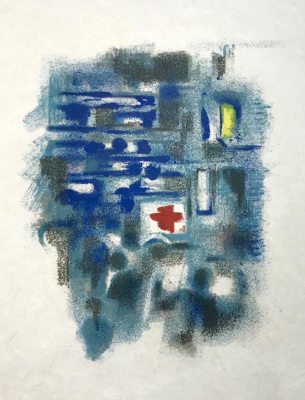 Alexandre Garbell Lithograph 12, Mourlot 1962