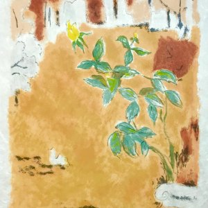 """Jules Cavailles """"6"""" Original Lithograph 1962, Mourlot"""