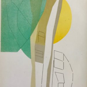 Andre Beaudin printed by Mourlot 1961
