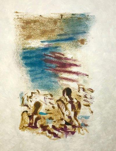 Alexandre Garbell 3, Original Lithograph 1962 Mourlot
