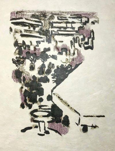 Alexandre Garbell 10, Original Lithograph 1962 Mourlot