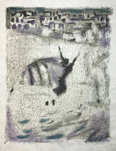Alexandre Garbell 13, Original Lithograph 1962 Mourlot