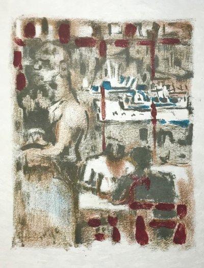 Alexandre Garbell 14, Original Lithograph 1962 Mourlot