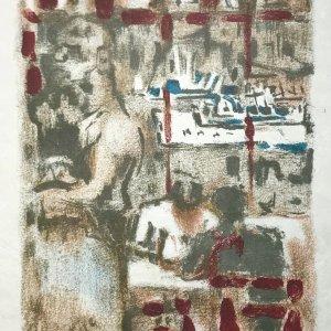 Alexandre Garbell Lithograph 14, Mourlot 1962
