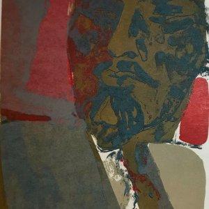 Paul Guiramand, Lithograph 1962, Untitled 8