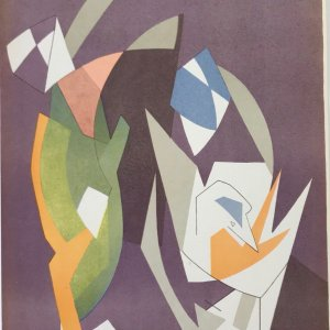 Andre Beaudin, Lithograph, mourlot 1961