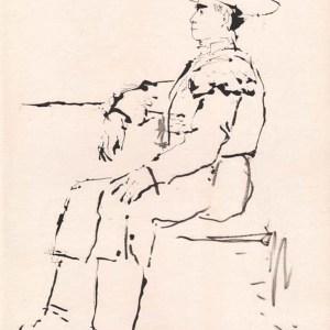 Pablo Picasso, Toros y Toreros 7 dated 13/7/59