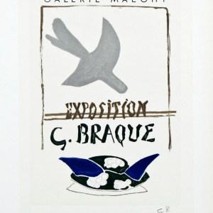 Braque Lithograph 98, Braque Maeght 1959, Art in Posters