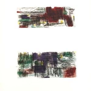 Jean Bazaine Lithograph DM0296, Derriere le Miroir