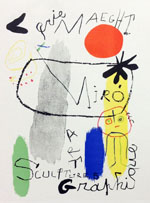 Miro Lithograph 50, Art Graphique, Art in Posters