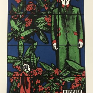 Gilbert & Georges Original Lithograph N4-2, 1988