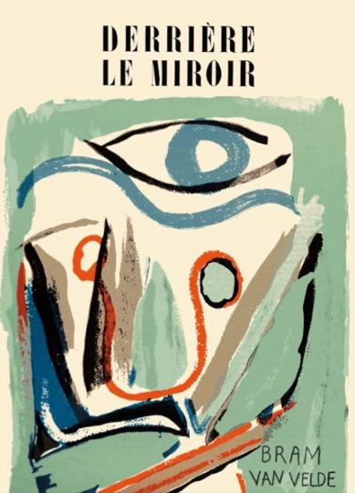 "Bram Van Velde Original Lithograph ""DM0143"""