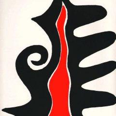 Alexander Calder Lithograph, DLM 201