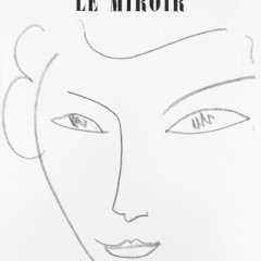 Book DLM 46, Derrire le Miroir 1952 Matisse 9 prints Sketch Drawing Mid-century modern Art Wall Decor