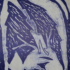 Dominique Labauvie Original Lithograph N8-4 Noise 1988