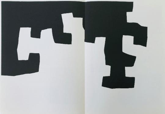 Eduardo Chillida Original Lithograph DM03204d, Derriere le miroir 1973