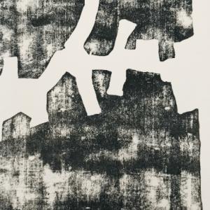 Eduardo Chillida Woodcut DM01174 DLM printed 1968
