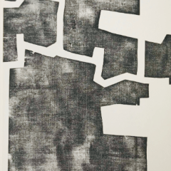 Eduardo Chillida Woodcut DM06174 DLM printed 1968