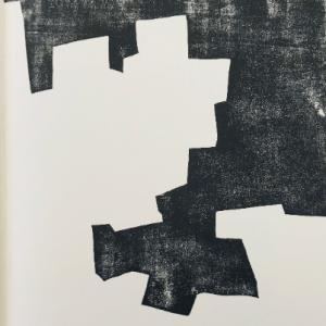 Eduardo Chillida, Lithograph DM08174L, Derriere le miroir 1968