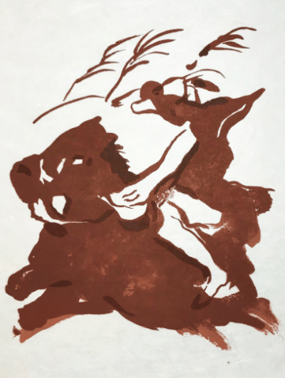 "Francisco Bores ""10"" Original Lithograph 1962 Mourlot"