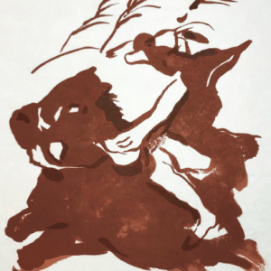 Francisco Bores Lithograph, Untitled 10, 1962