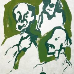 "Francisco Bores ""15"" Original Lithograph 1962 Mourlot"