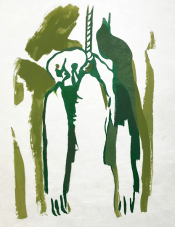 "Francisco Bores "" 17"" Original Lithograph 1962 Mourlot"