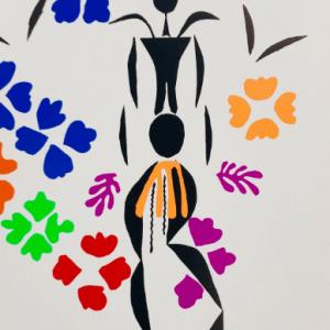 Henri Matisse Lithograph Negress 1984