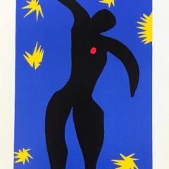 "Henri Matisse poster ""Icarus"" 1984"